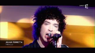 """Julian Perretta, en Live avec """"Miracle"""" - C à vous - 22/02/2016"""