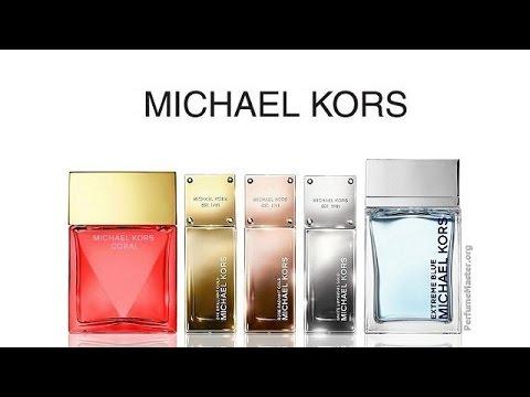 612b7dbdb455 Michael Kors Perfume Collection 2015 - YouTube
