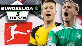 Werder schafft Europa-Quali & BVB bereits Meister?! |Bundesliga Prognose