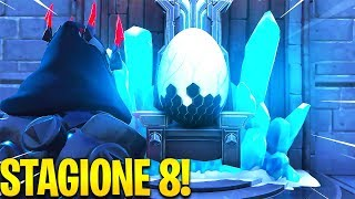THE END OF SEASON 7 IS REVEALED FOR SBAGLIO!! Glitch Fortnite Secret Castle