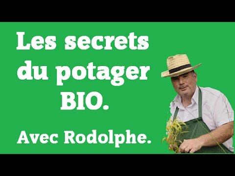 Les secrets du potager BIO.le jardin de Rodolphe - YouTube