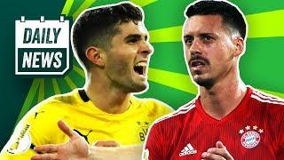 Schicksalspiel für den FC Bayern! Hoeneß vs. Breitner! Pulisic & Kagawa wollen den BVB verlassen!