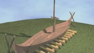 Building a Viking Ship