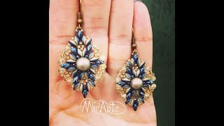 DIY Tutorial Orecchini/Anello  Sery - Earrings Sery - Ring Sery