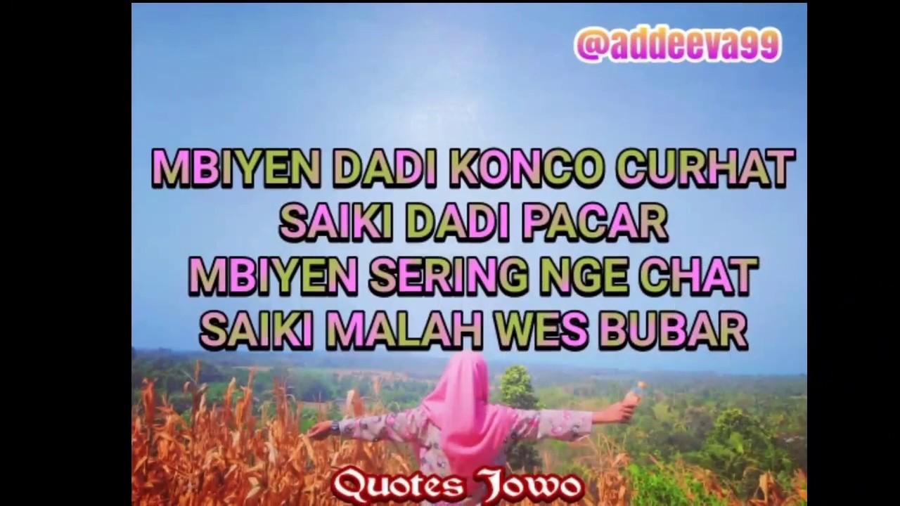 Quotes Jawa Galau Ambyar Atiku Youtube