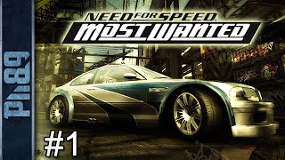 Need For Speed Most Wanted Black Edition Gameplay Walkthrough Part #1: Introduction (PC HD)