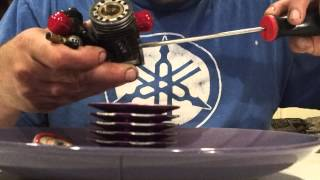 cleaning your nitro engine for storage