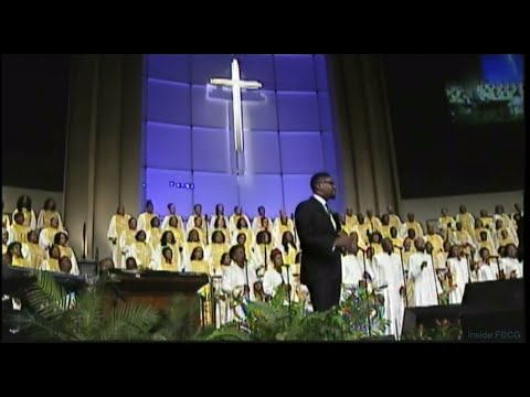 """The Blood Will Never Lose It's Power"" Combined Choir w/ Justin Savage"