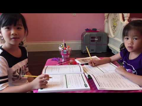Morning homeschool routine for the summer