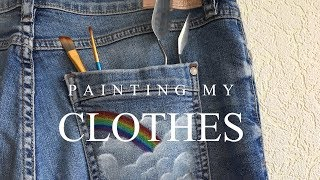 painting my clothes
