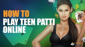 How to Play Teen Patti Online | CasinoWebsites.in