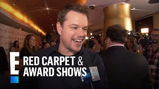 Matt Damon Talks Working With Ben and Casey Affleck | E! Live from the Red Carpet