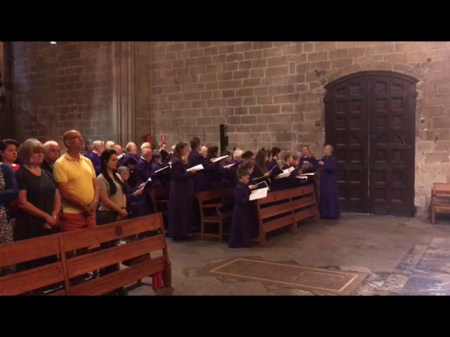 Blow: Praise the Lord Ye Servants at Barcelona Cathedral