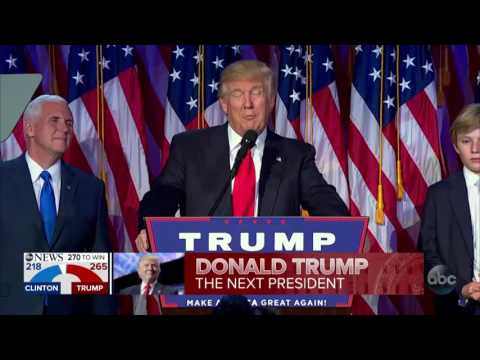 PART 4: Donald Trump elected President of the United States