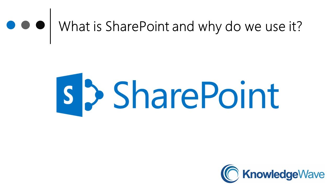 What is SharePoint and Why We Use It - YouTube