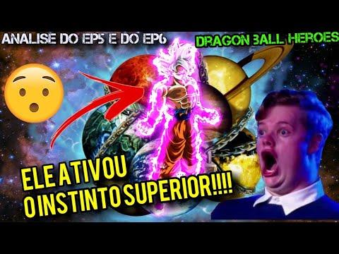 Análise da zueira do ep5 e ep6!! -dragon ball heroes-