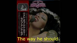 Watch Donna Summer My Man Medley video