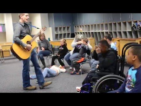 Teaching Music to Students with Special Needs-  The Wheels on the Bus
