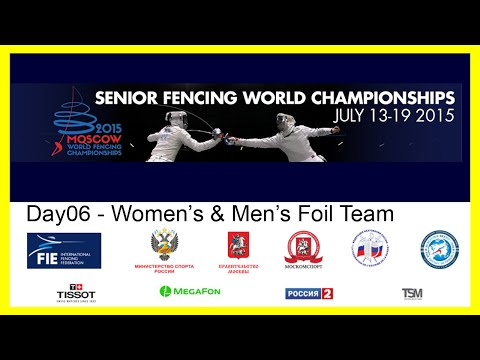 Senior Fencing World Championships Moscow 2015 - Day06 Finals