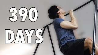 This Middle-aged Guy Learns the One Arm Pull up in 390 Days