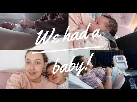 WE HAD A BABY! | DAY IN THE LIFE WITH NEWBORN BABY GIRL