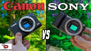 Canon M100 vs Sony A5100 Budget Camera Battle!
