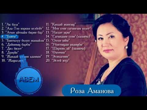 Роза Аманова