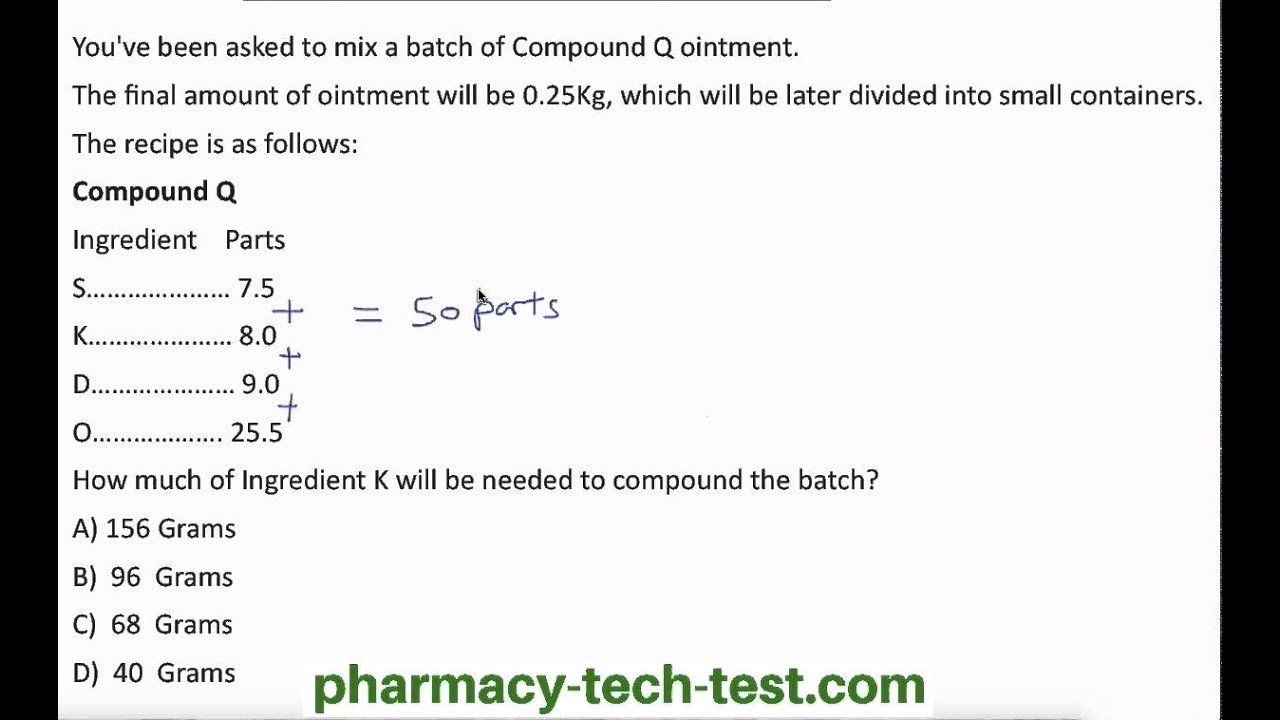 Pharm tech compounding math youtube xflitez Choice Image