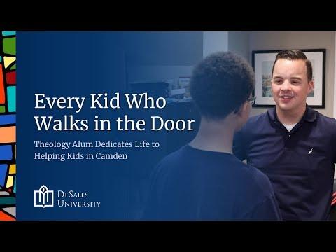 DeSales Theology Alum Dedicates Life to Helping Kids in Camden