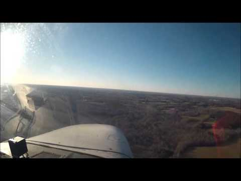 Strong Crosswind Take Off And Landing - Cessna 172