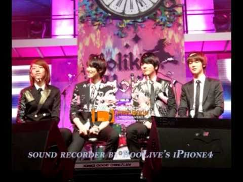01272011 - CNBLUE - Holika - For the First Time Lovers