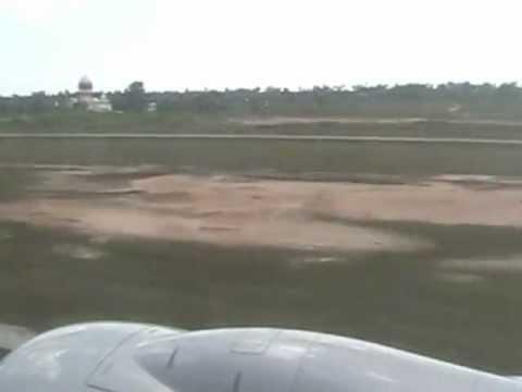 American Airlines Plane Landing in Belize