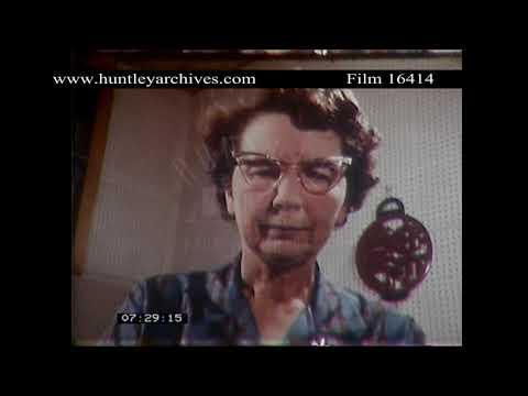 Gospel Recordings In America, 1950's.  Archive Film 16414