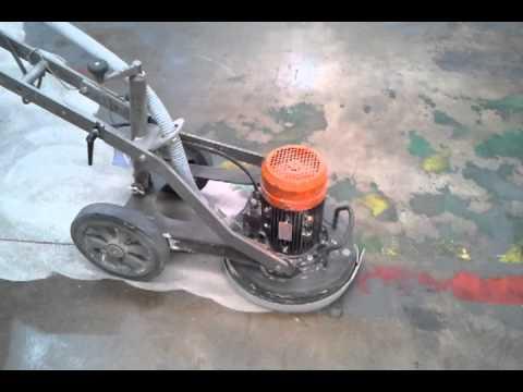 Eliminacion pintura maquina diamante youtube - Como quitar rayones del piso vinilico ...
