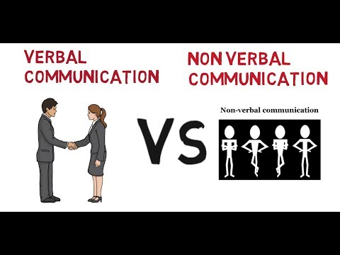 Differences Between VERBAL And Non- Verbal Communication.