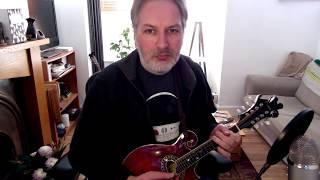 The Lads Of Laois (reel) on mandolin