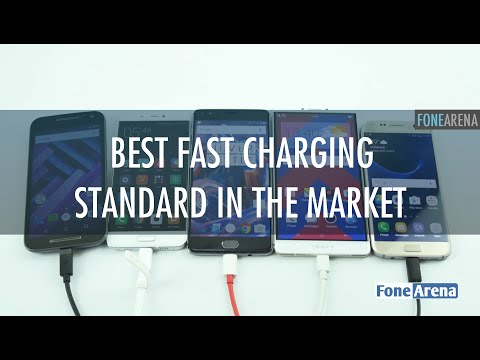 FoneArena Labs : Best Fast Charging Standard in the market