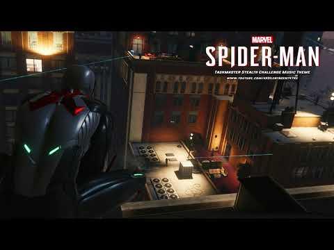 Marvel's Spider-Man (PS4) - Taskmaster Stealth Challenge Music Theme