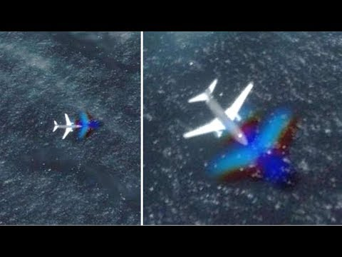 Mysterious Plane Looking For Underwater UFO Base?