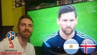 UNBOXING PODCZAS OGLĄDANIA MECZU ARGENTYNA VS ISLANDIA WORLD CUP RUSSIA 2018