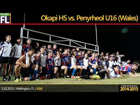 Okapi Wanderers vs. Penyrheol U16 (Wales)