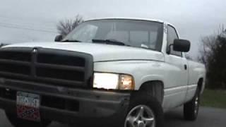 1997 dodge ram 1500 3 9 liter v6 straight pipe exhaust