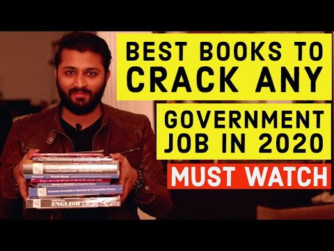 Only 4 Books To Crack Any Govt. Job Exam In 2020 | Best Books To Crack Any Government Job  In 2020