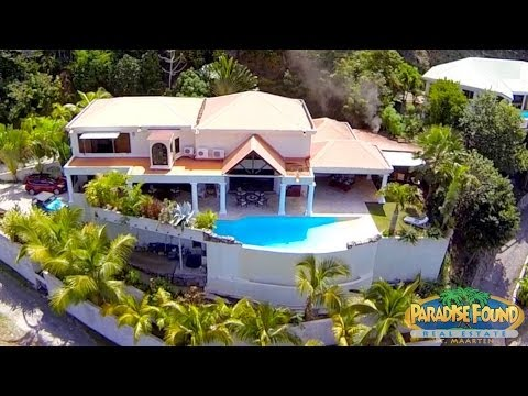 "SOLD! St Maarten, SXM - ""VILLA GRECO"" - US$1,750,000 - Paradise Found Real Estate, CARIBBEAN!"