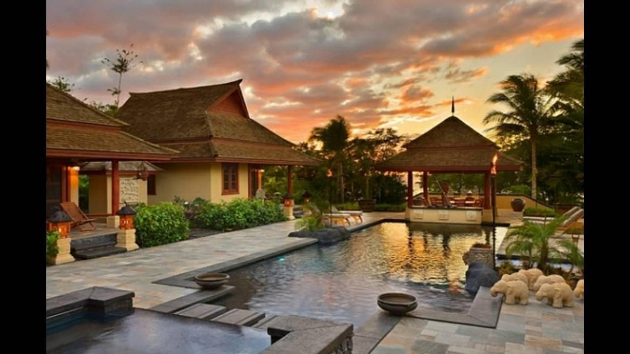 Decoracion de jard n con antorcha al estilo tiki hawaiano youtube - Antorchas solares para jardin ...