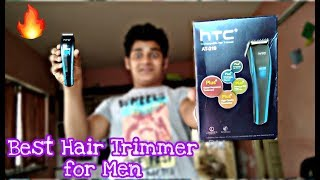 YT: HTC-210 Trimmer for Men |Best trimmer under 500 | Unboxing and Detail Review in Hindi