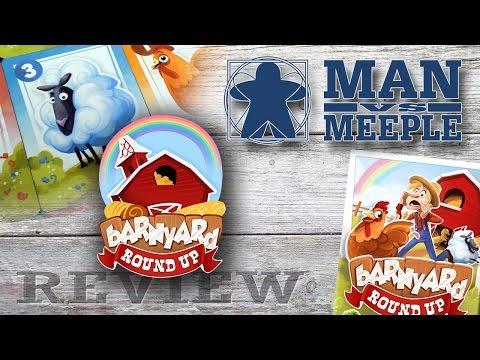 Barnyard Roundup (Druid City Games) Review by Man Vs Meeple