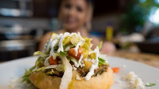 How To Make Sopes With Green Chile Ground Beef   Claudia Regalado