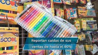 Locatarios de Mesones  dicen  que han  podido subsistir gracias a los  descuentos en la renta
