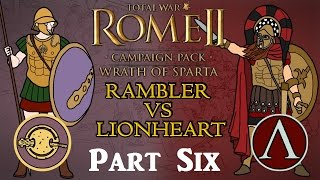 Wrath of Sparta - Multiplayer Campaign - Boiotian League v Sparta! w/Lionheart - Part 6!